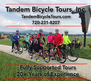 Tandem Bicycle Tours Advertisement